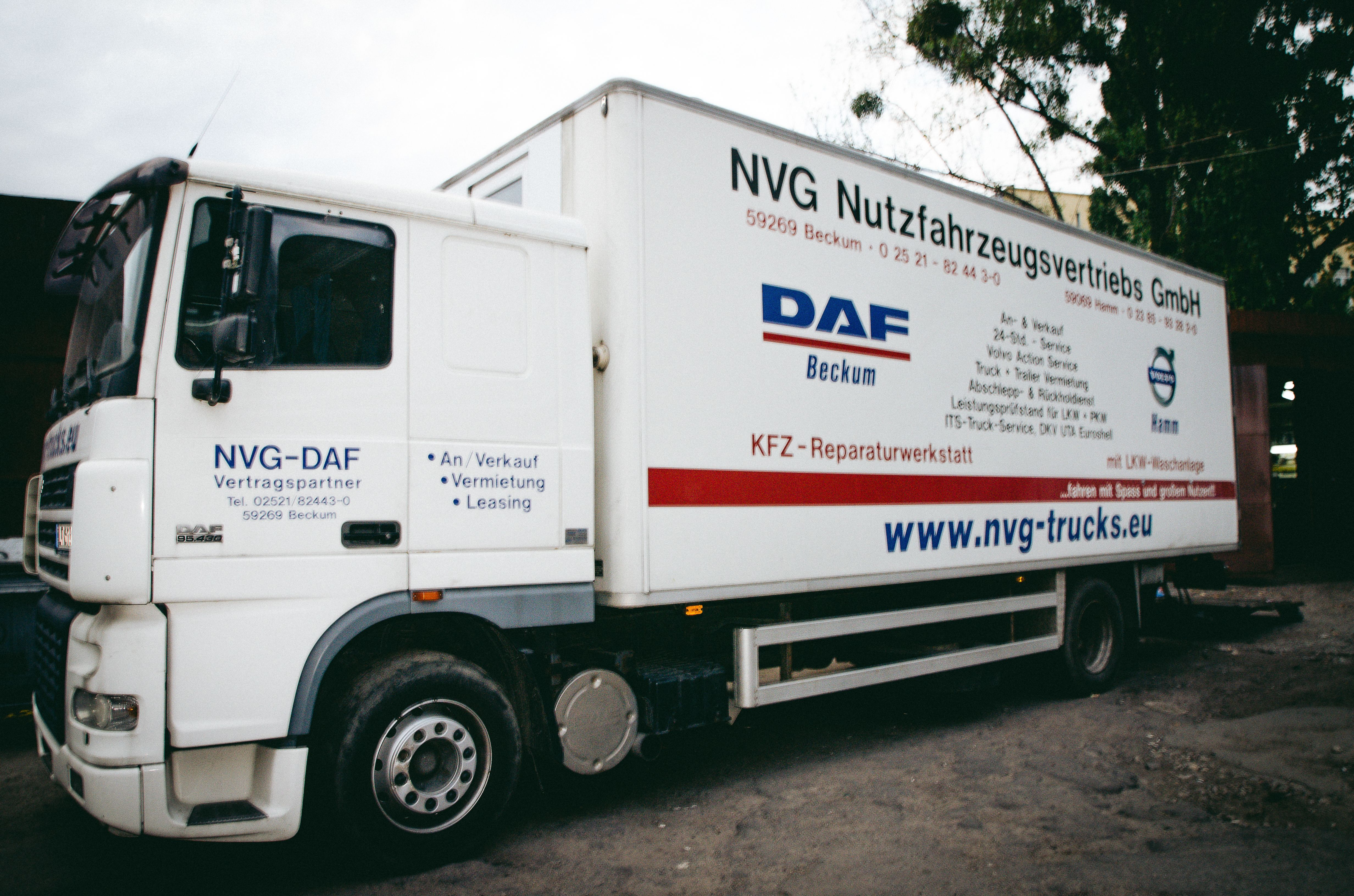 DAF Kitchen Van