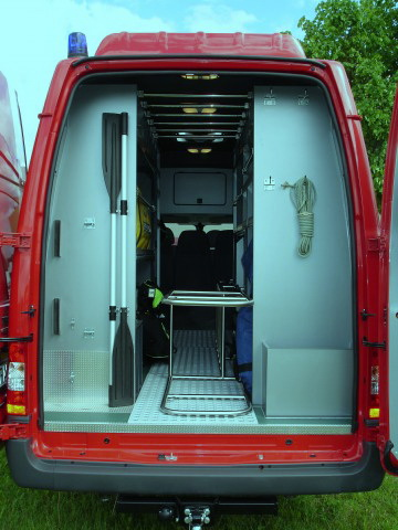 ACA Ford Transit for water