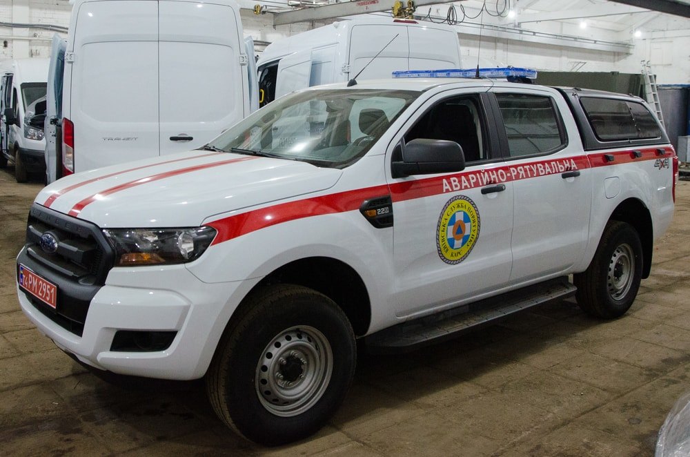 Rescue vehicle Ford Ranger