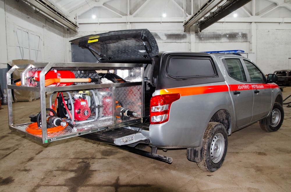 Rescue vehicle Mitsubishi L200
