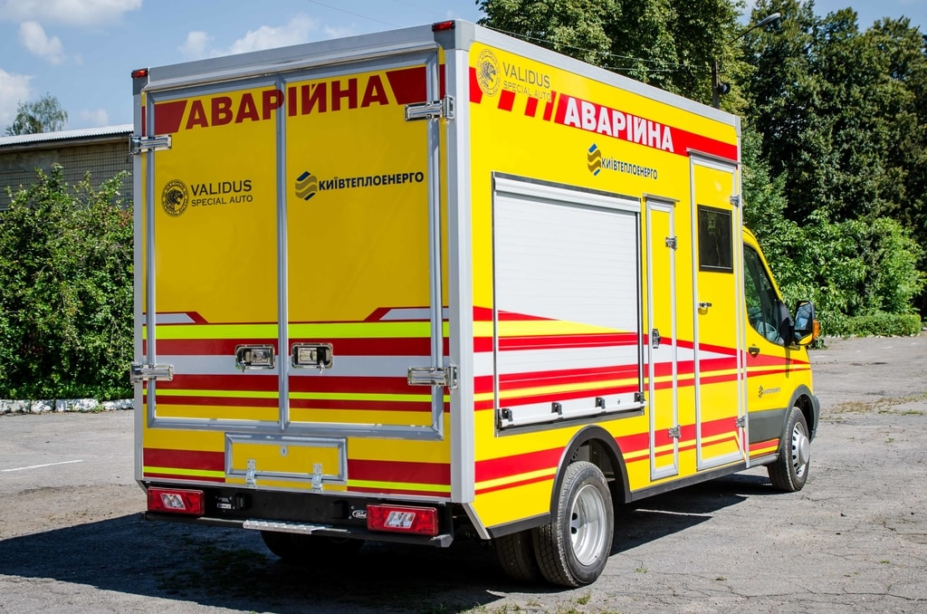 Rescue car Ford KyivTeploEnergo | SpecVan