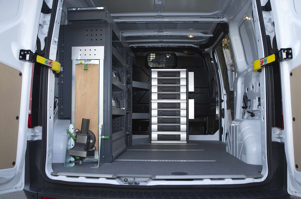 Service car with furniture Bott Ford Transit Custom