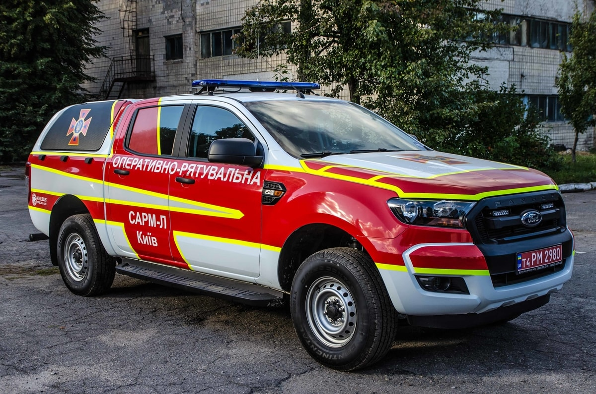 Special rescue machine light class GSChS Kiev (SARM-L)