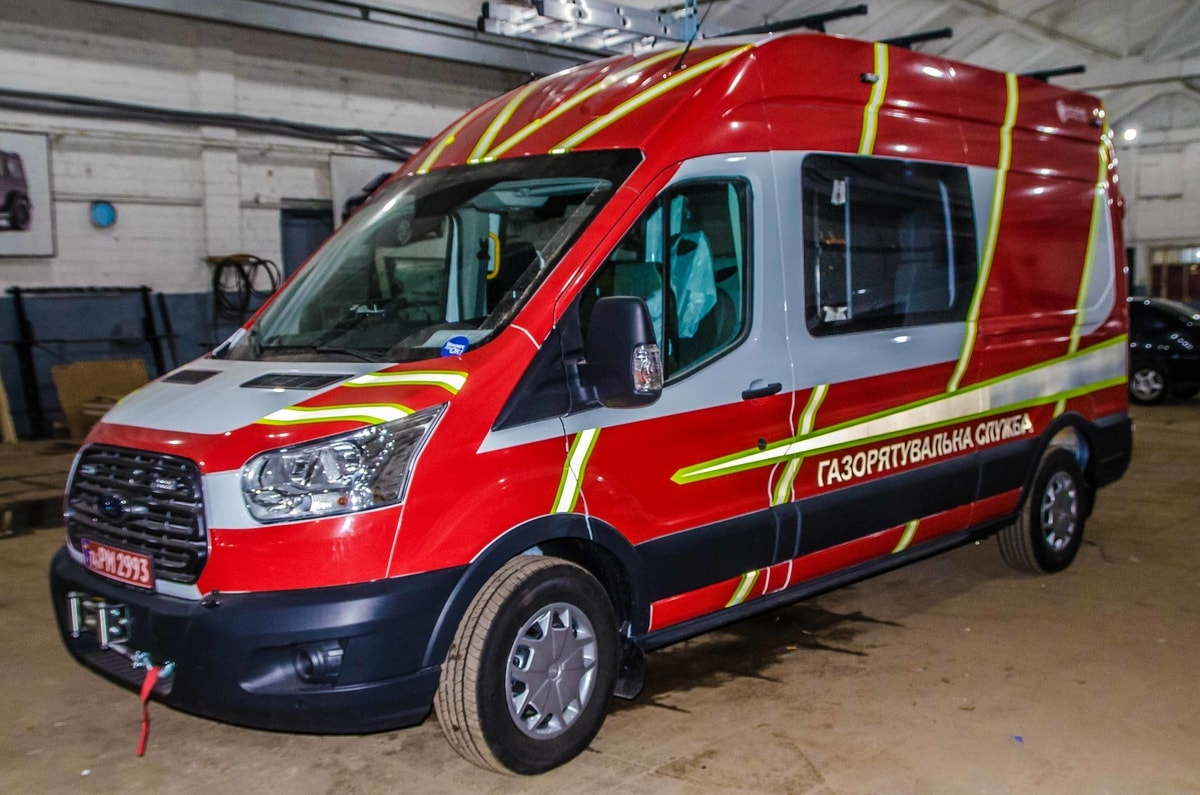 Metinvest Gas Rescue Vehicle