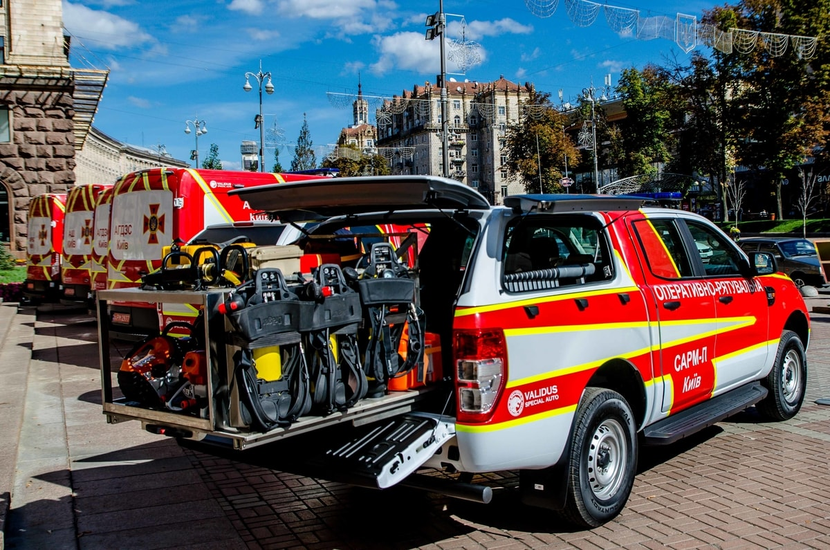 Rescue equipment GSChS Kiev